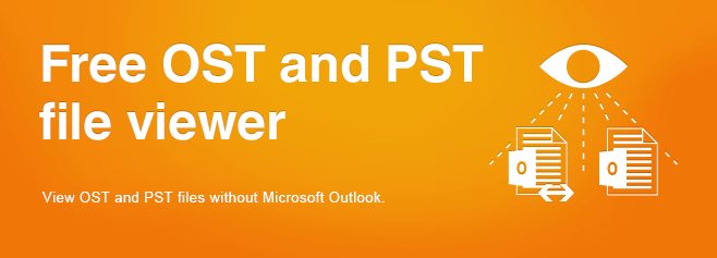 <b>Open Outlook .pst and .ost files</b> - View, search and print out .PST and .OST files for Free.